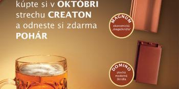 Októbrový festival so škridlami Creaton
