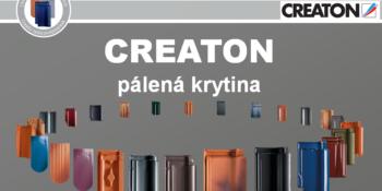 Akcia na pálenú škridlu Creaton Magnum