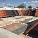 Vzorkovňa pálených škridiel Creaton a zámkovej dlažby ABW