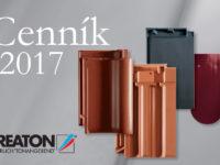 CREATON cenník keramických škridiel 2017