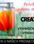 Jarná akcia Creaton